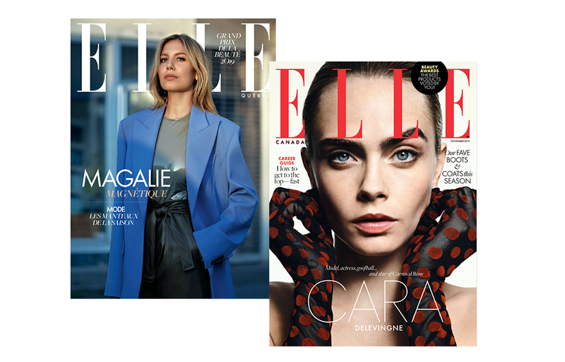 Elle Quebec and Elle Canada