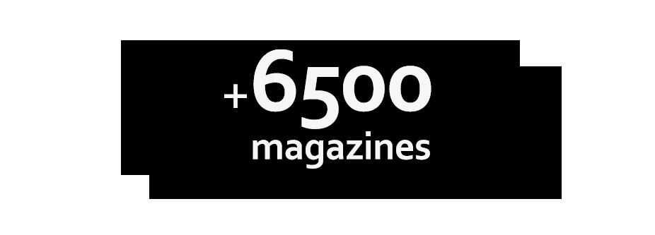 +6500 magazines