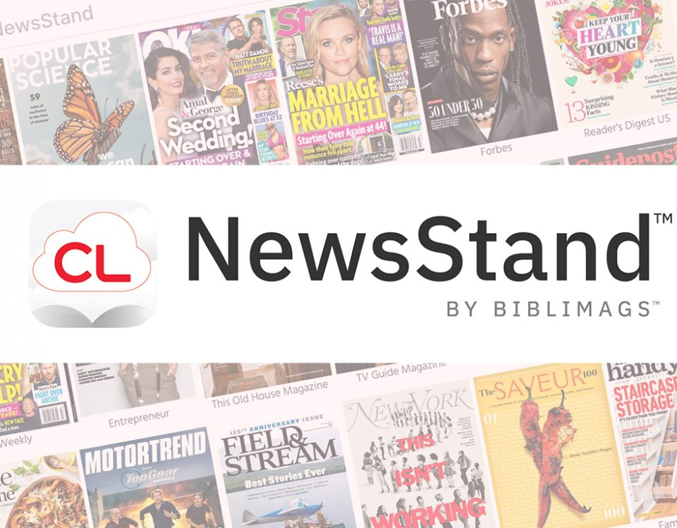 cloudLibrary NewsStand by BibliMags