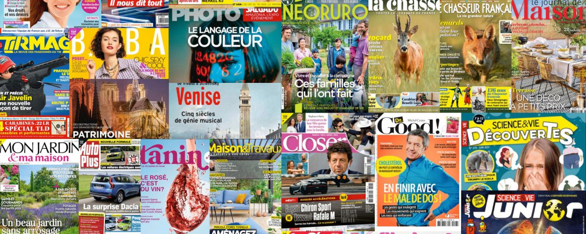 35 magazines in French from Reworld Media